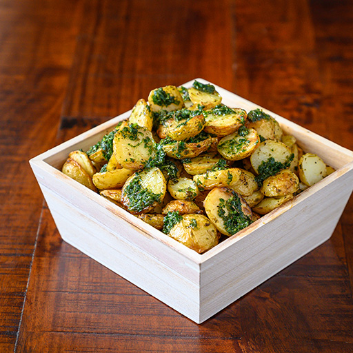Baked Mini Herb Potatoes